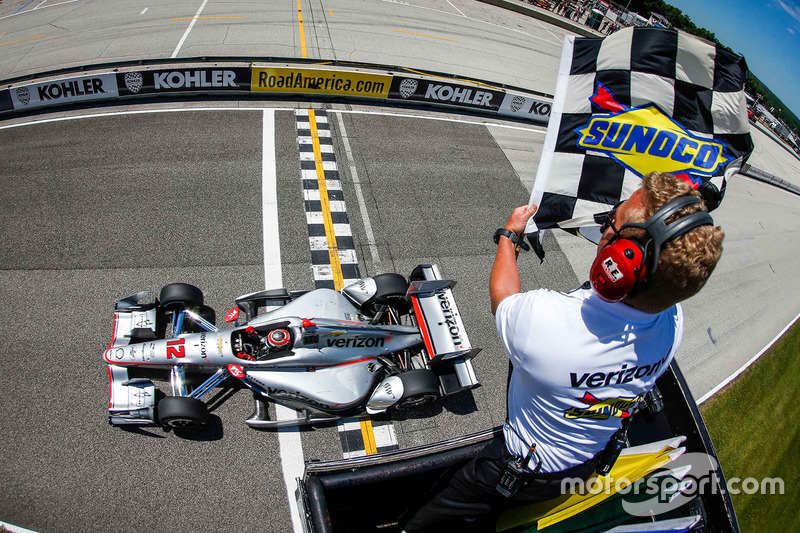3. Will Power, Team Penske Chevrolet se lleva la victoria