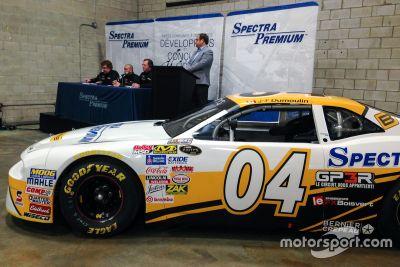 Annonce de Jean-François Dumoulin en NASCAR Pinty's
