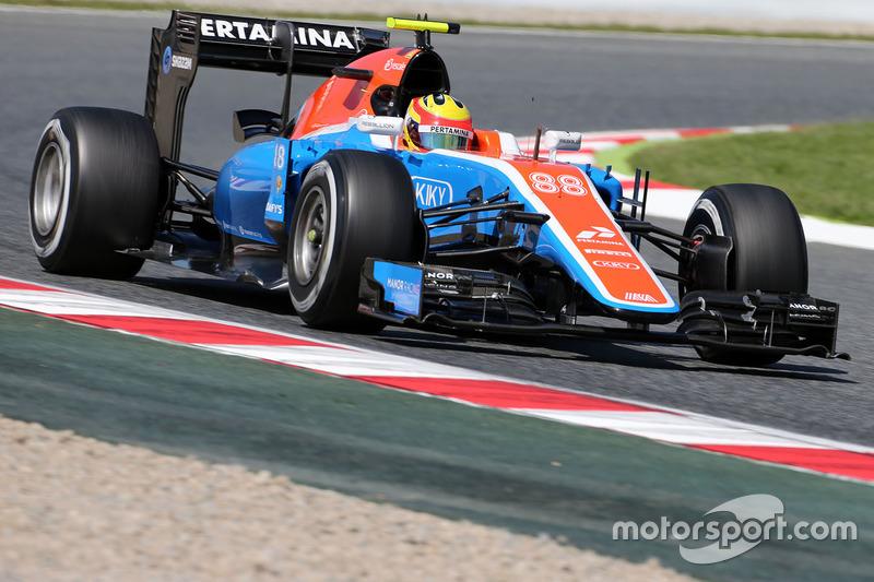 Rio Haryanto, Manor Racing MRT05