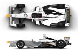 Dragon Racing-Faraday Future concept livery