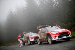 Стефан Лефевр и Жиль де Тюркхайм, Citroën DS3 WRC, Abu Dhabi Total World Rally Team; Квентин Жильбер