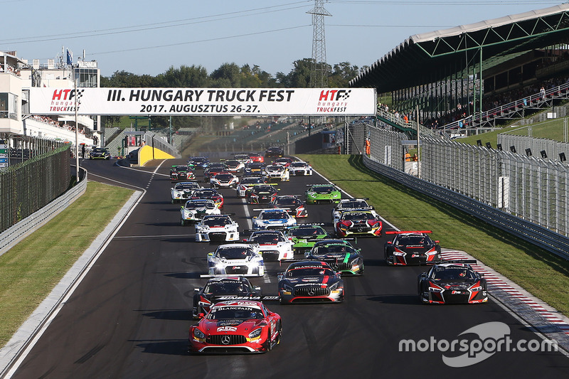 Partenza: #88 AKKA ASP Mercedes AMG GT3: Tristan Vautier, Felix Rosenqvist al comando