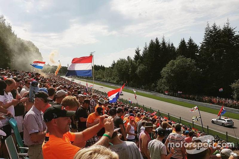 Nederlandse fans van Max Verstappen (2016)