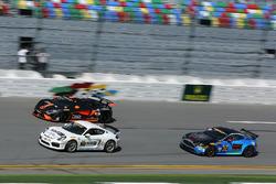 #21 Muehlner Motorsports America Porsche Cayman GT4: Kyle Marcelli, Cameron Lawrence, #77 Compass360