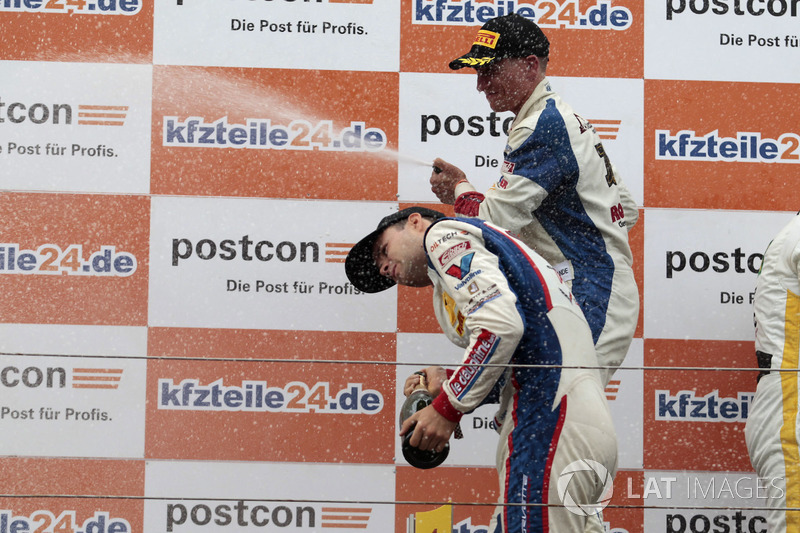 Podium: #77 Callaway Competition, Corvette C7 GT3-R: Jules Gounon, Renger van der Zande