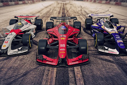 Ferrari, McLaren y Williams – 2025