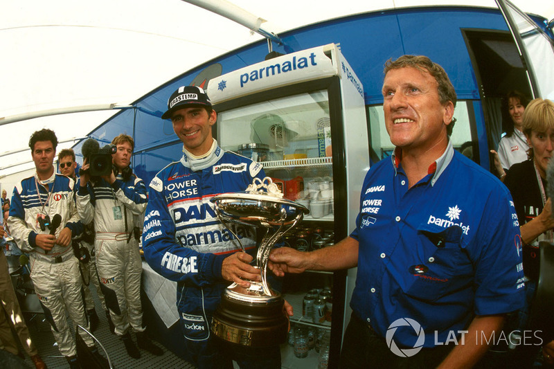 2. Damon Hill, Arrows, mit Tom Walkinshaw
