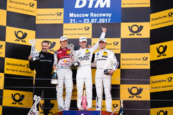 Podium: 1. Maro Engel, Mercedes-AMG Team HWA, Mercedes-AMG C63 DTM; 2. Mattias Ekström, Audi Sport T