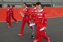 Себастьян Феттель, Ferrari, гоночний інженер Ferrari Ріккардо Адамі, команда Ferrari