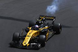 Motorschaden: Jolyon Palmer, Renault Sport F1 Team RS17