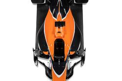 McLaren MCL32, вид на центральную секцию сверху