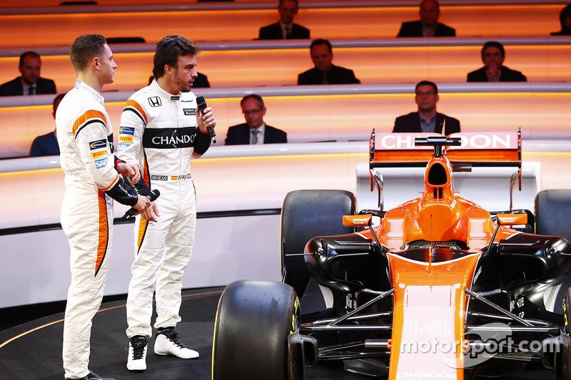 Fernando Alonso, McLaren, Stoffel Vandoorne,McLaren MCL32
