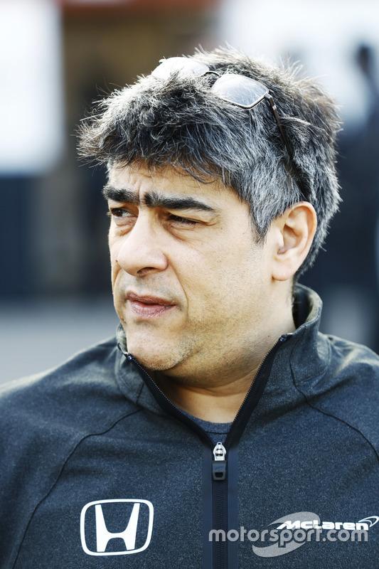 Peter Prodromou, McLaren-Chefingenieur