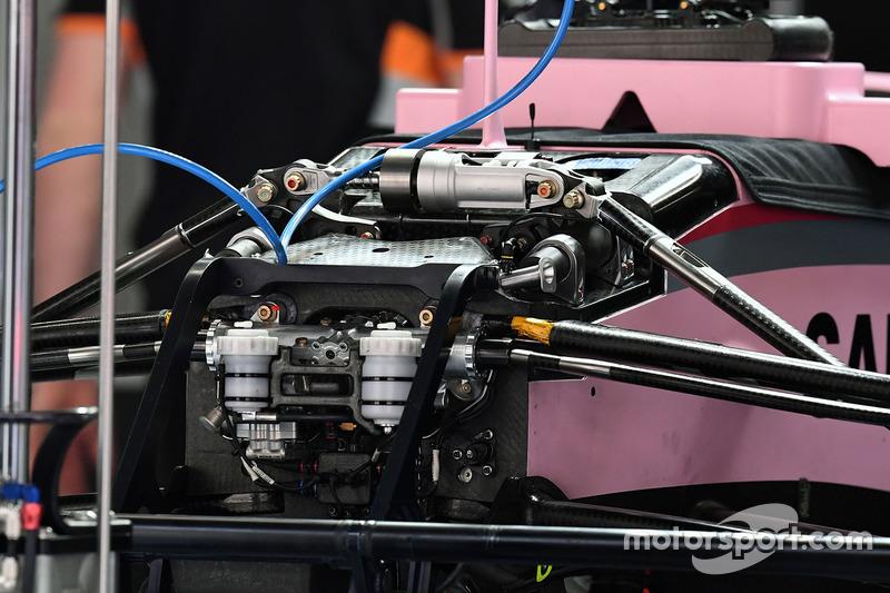 印度力量VJM10赛车前部细节图