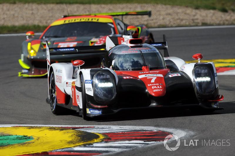 #7 Toyota Gazoo Racing Toyota TS050 Hybrid: Майк Конвей, Камуї Кобаясі, Хосе Марія Лопес