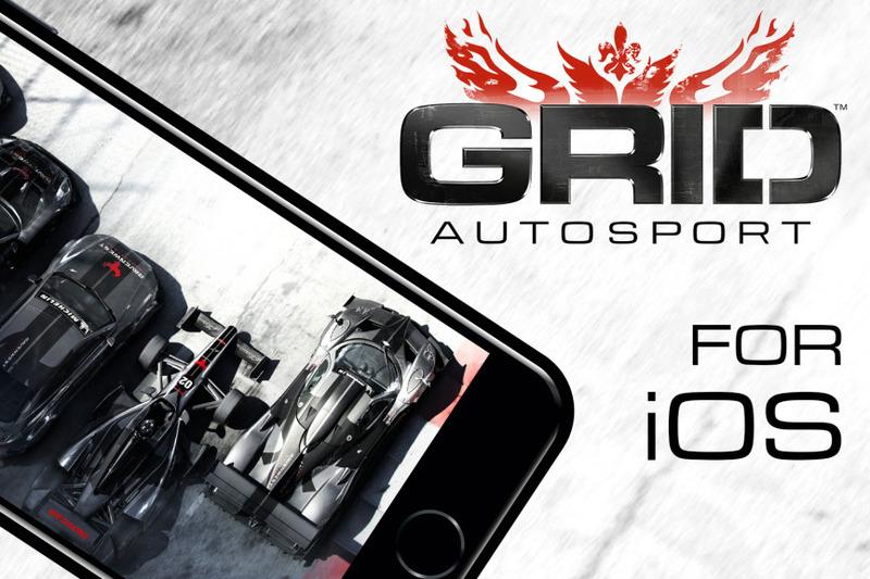 Grid Autosport для IOS