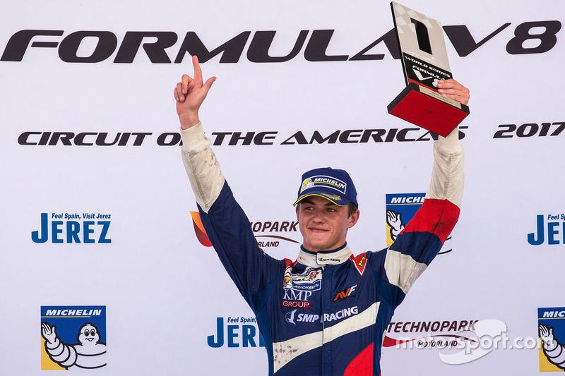 Победитель Егор Оруджев, SMP Racing