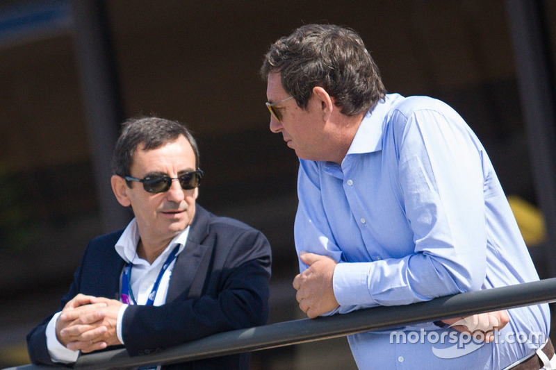 Pierre Fillon, ACO-Präsident; Gerard Neveu, WEC-Chef