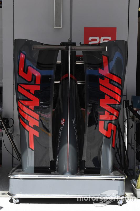 Haas F1 Team VF-17 bodywork