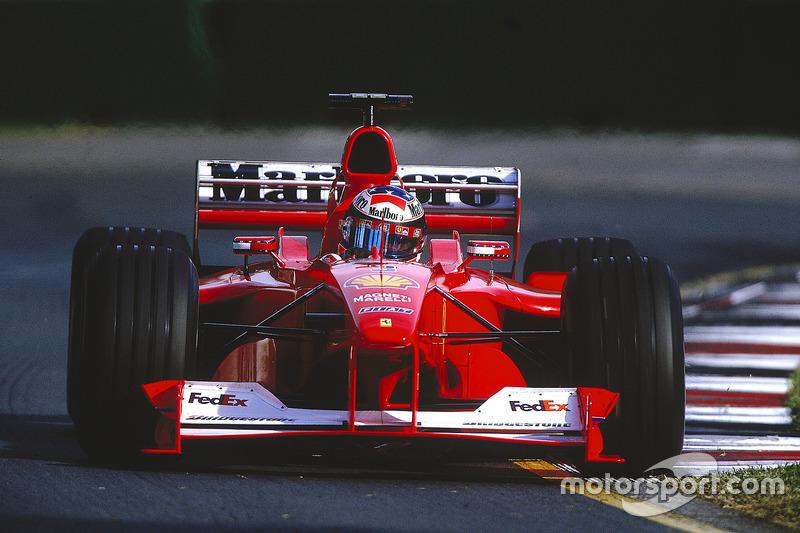 Міхаель Шумахер, Ferrari F1-2000