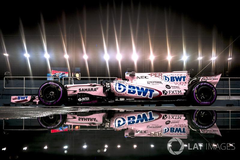 6. Sergio Perez, Sahara Force India F1 VJM10
