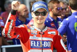 Tweede plaats Jorge Lorenzo, Ducati Team