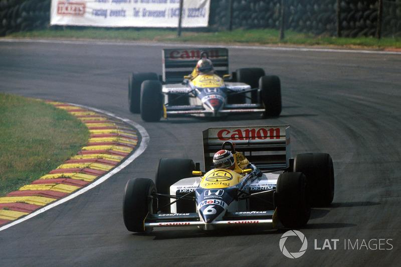 1986: Wechsel zu Williams