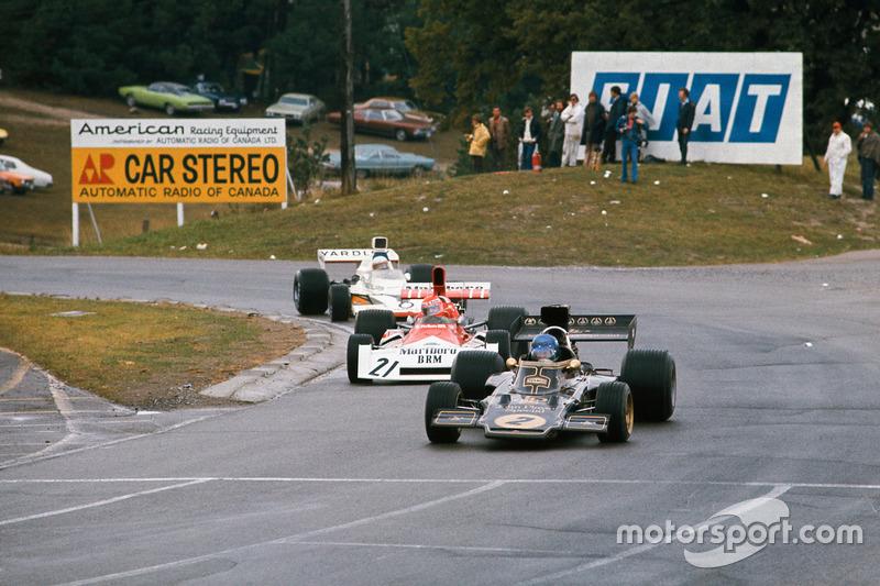 Ронни Петерсон, Lotus 72E Ford, Ники Лауда, BRM P160E, Джоди Шектер, McLaren M23 Ford