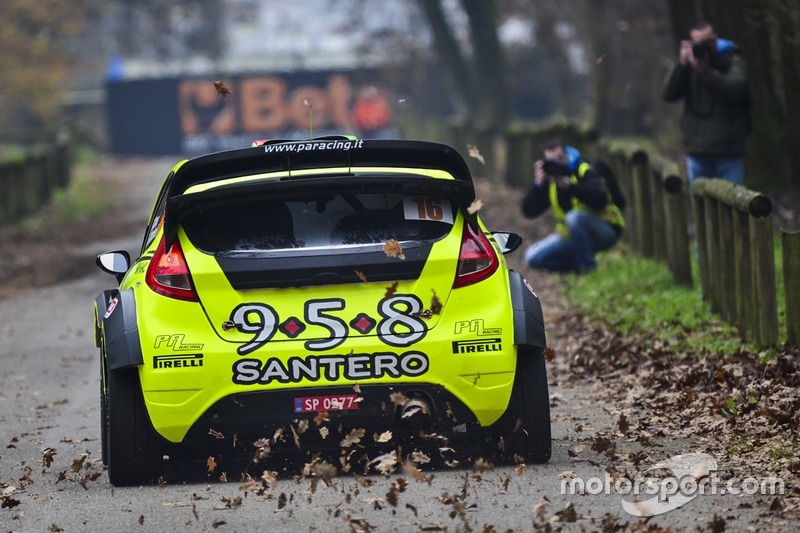 Gabriele Ciavarella, Giuliano Manfredi, Ford Fiesta