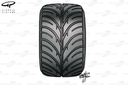 Bridgestone intermediate tyre