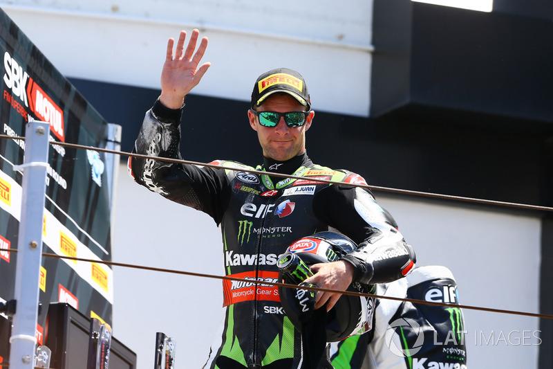 Podium: Third place Jonathan Rea, Kawasaki Racing