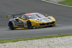 #35 HubAuto Racing Ferrari 488 GT3: Morris Chen, Hiroki Yoshimoto, Shinya Hosokawa, Hiroki Yoshida