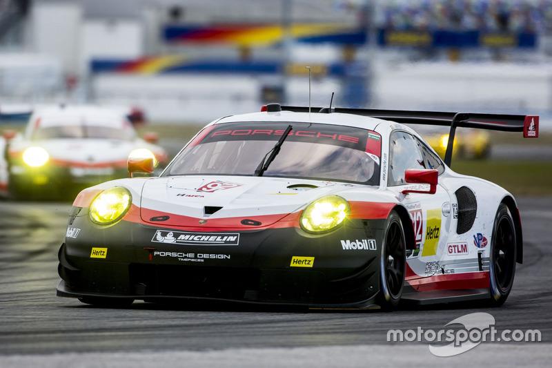 #912 Porsche Team North America Porsche 911 RSR: Michael Christensen, Laurens Vanthoor