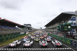 The cars entered for the 2017 Le Mans 24 Hours