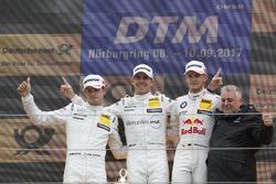 Podium: Ganador, Robert Wickens, Mercedes-AMG Team HWA, Mercedes-AMG C63 DTM, segundo, Paul Di Resta, Mercedes-AMG Team HWA, Mercedes-AMG C63 DTM, tercero, Marco Wittmann, BMW Team RMG, BMW M4 DTM