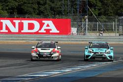 Norbert Michelisz, M1RA, Honda Civic TCR, Jean-Karl Vernay, Leopard Racing Team WRT, Volkswagen Golf GTi TCR