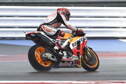 Marc Marquez, Repsol Honda Team, en glisse