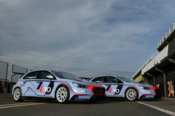 The Hyundai's i30 N TCR for Gabriele Tarquini and Alain Menu