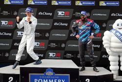 2. Giacomo Altoè, M1RA, Honda Civic TCR; 3. Stefano Comini, Comtoyou Racing, Audi RS3 LMS