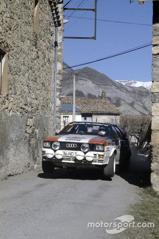 Hannu Mikkola, Arne Hertz, Audi Quattro