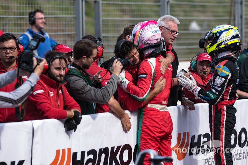 Maximilian Günther, Prema Powerteam, Dallara F317 - Mercedes-Benz, Joel Eriksson, Motopark, Dallara F317 - Volkswagen