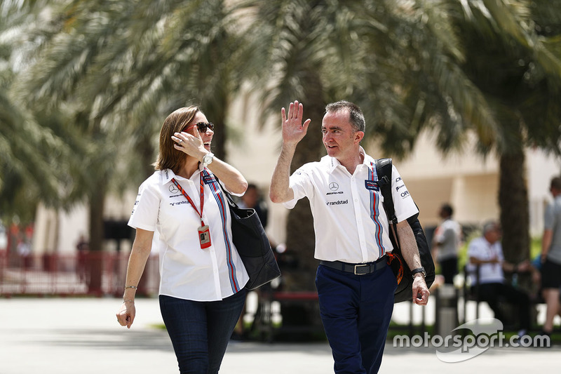 Claire Williams, Deputy Team Principal, Williams, Paddy Lowe, Williams