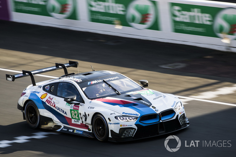 42. Антониу Феликс да Кошта, Александр Симс, Аугусту Фарфус, BMW Team MTEK, BMW M8 GTE (№82)