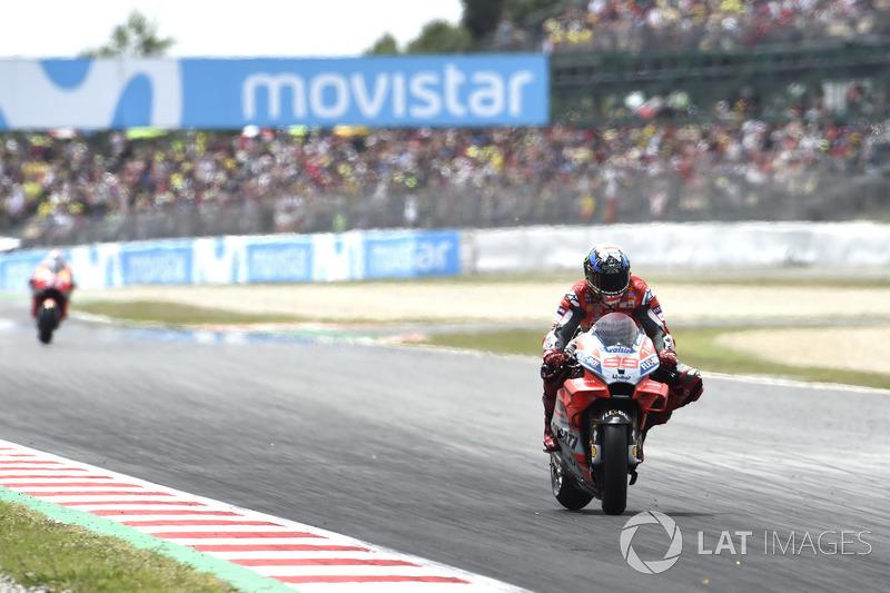17: Гран Прі Каталонії 2018: Хорхе Лоренсо, Ducati Team