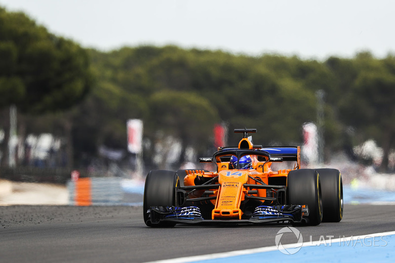 Alonso was furious during another disappointing race