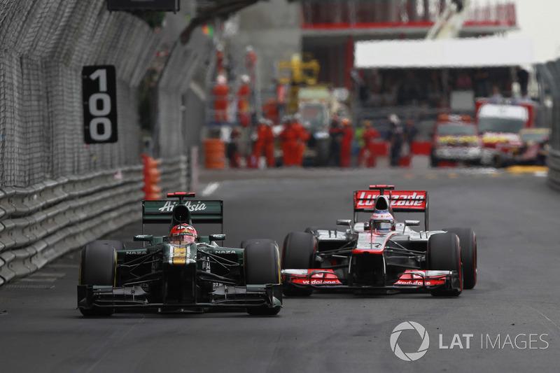 2012 - Quand Caterham bat McLaren