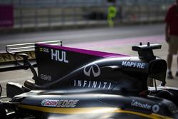 L'aileron de requin de la Renault Sport F1 Team RS17