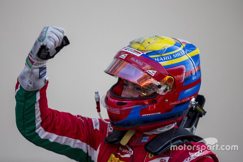 Charles Leclerc: 99 dias - Última vitória: F2 Abu Dhabi 2017