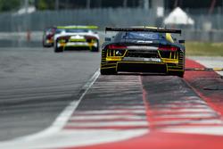 #17 Team WRT Audi R8 LMS: Stuart Leonard, Sheldon van der Linde