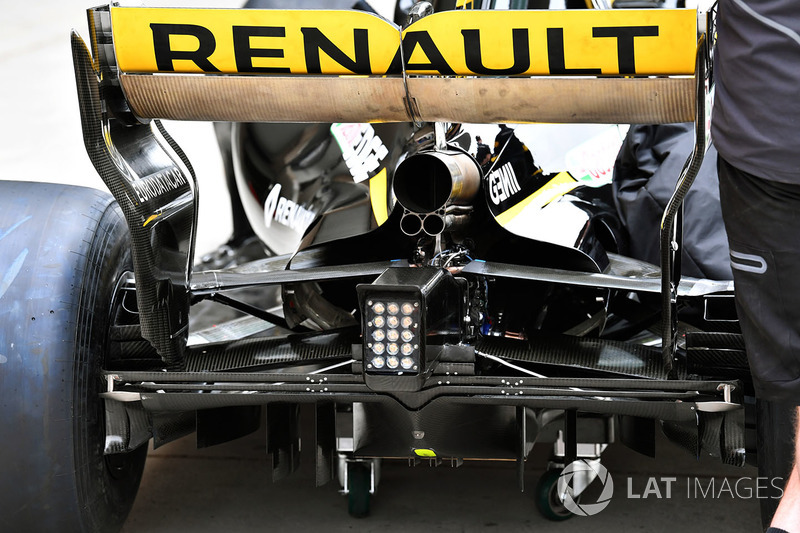 Renault Sport F1 Team R.S. 18 rear